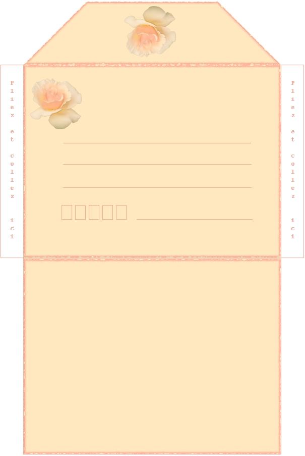 Super papier a lettre, papeterie, imprimer, print,ecrire QA61