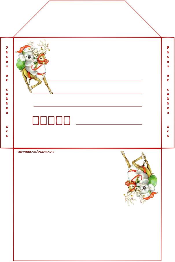 Célèbre carte et enveloppe à imprimer pour souhaiter la fete des meres PX82