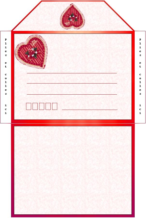 papier a lettre, papeterie, imprimer, print,ecrire: www.clicpartout.com/imprime/saint-valentin-1.htm